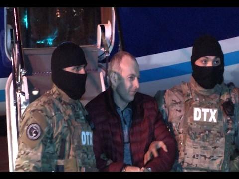 Ermənipərəst blogger Aleksandr Lapşin Bakıya belə gətirildi