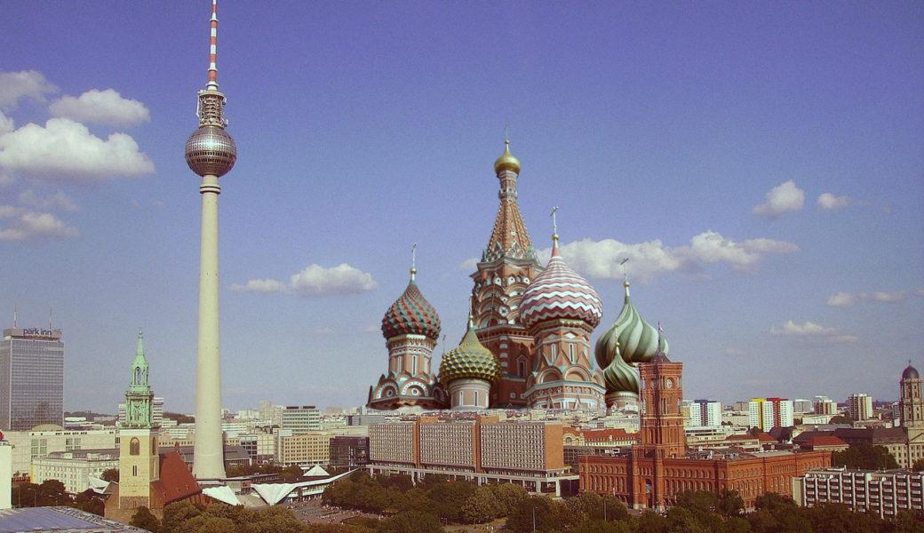על נהרות ברלין, שם ישבנו והתגעגענו. לרוסיה
