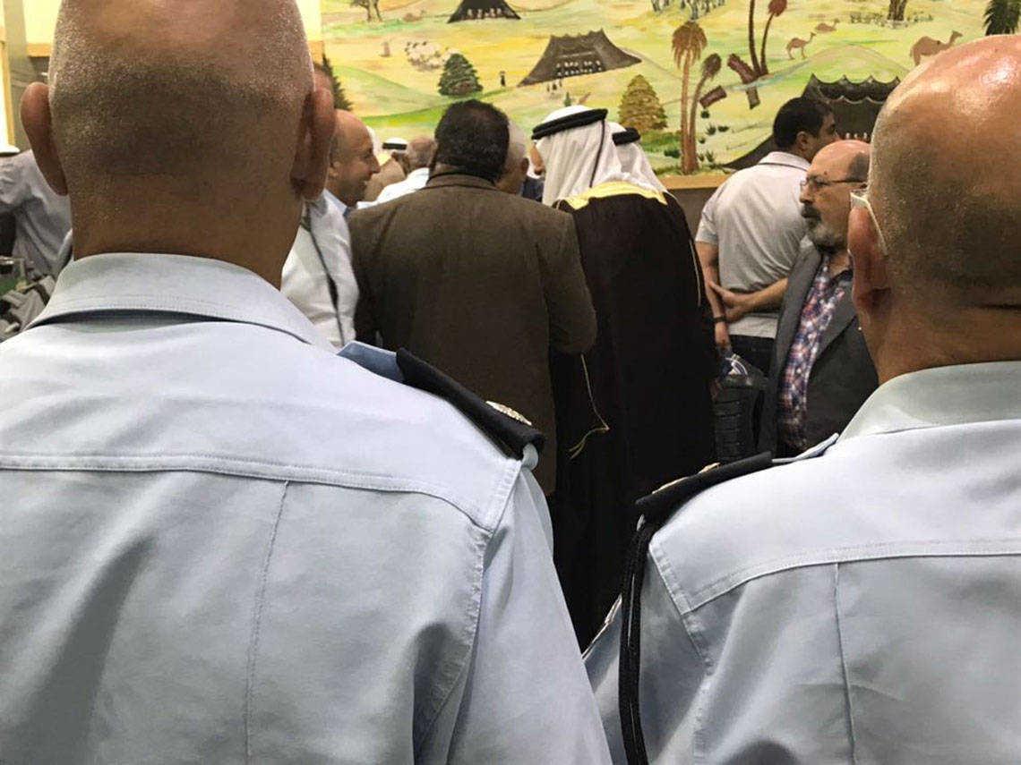 מפגש שוטרים תושבים ברהט