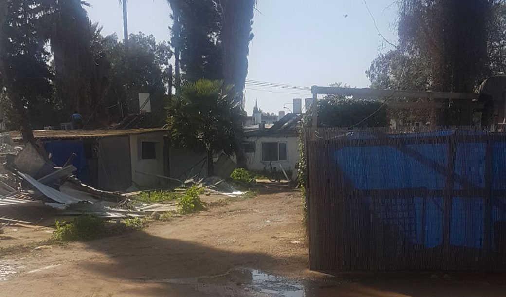 מתחם המגורים בשכונת הארגזים