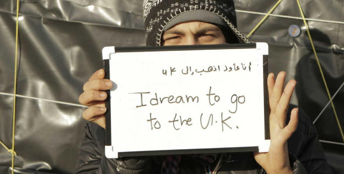 החלום: להגיע לבריטניה