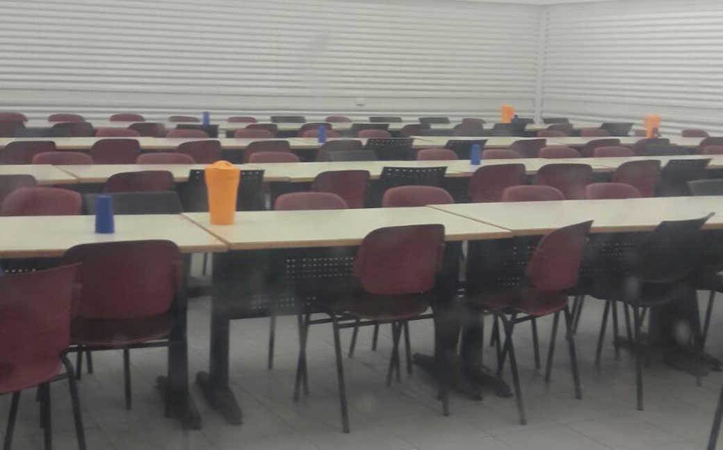 חדר האוכל במתקן חולות, היום