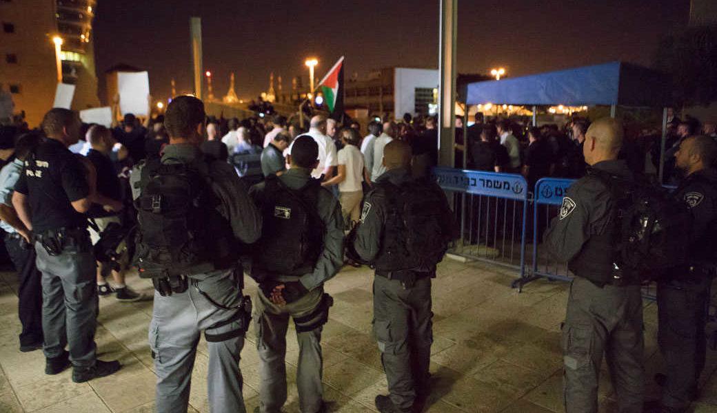 ההודעה לעיתונות הוכיחה: המשטרה הפעילה כוח כדי לדכא הפגנות עתידיות