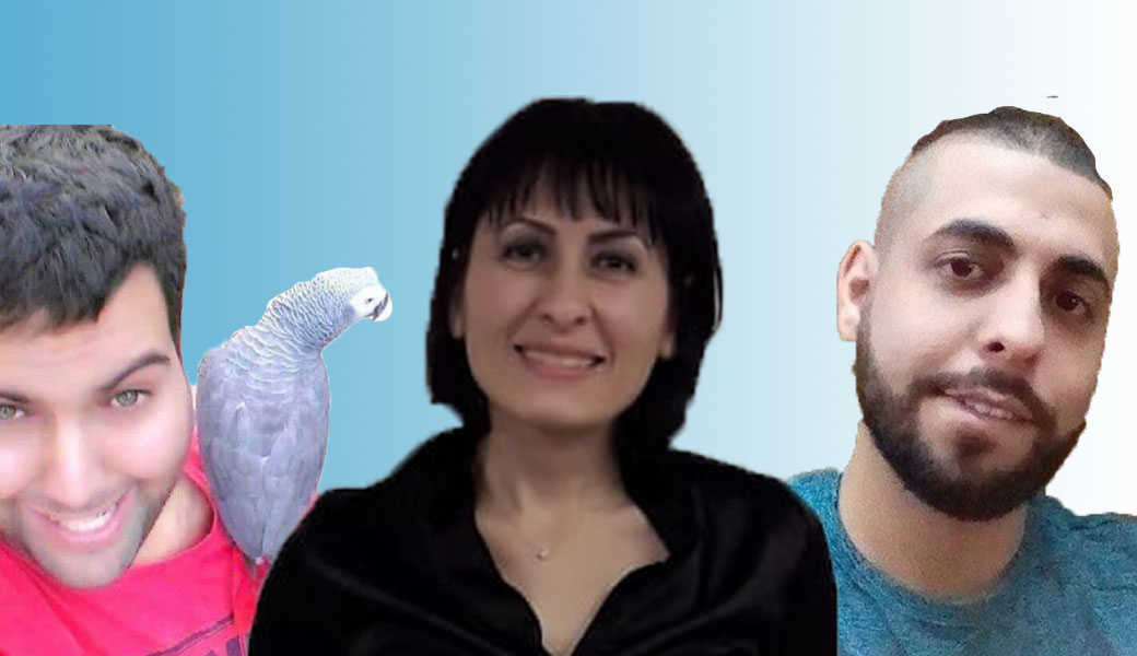 ג'וליאן איברהים, יארא סולימאן, אסף פלאח