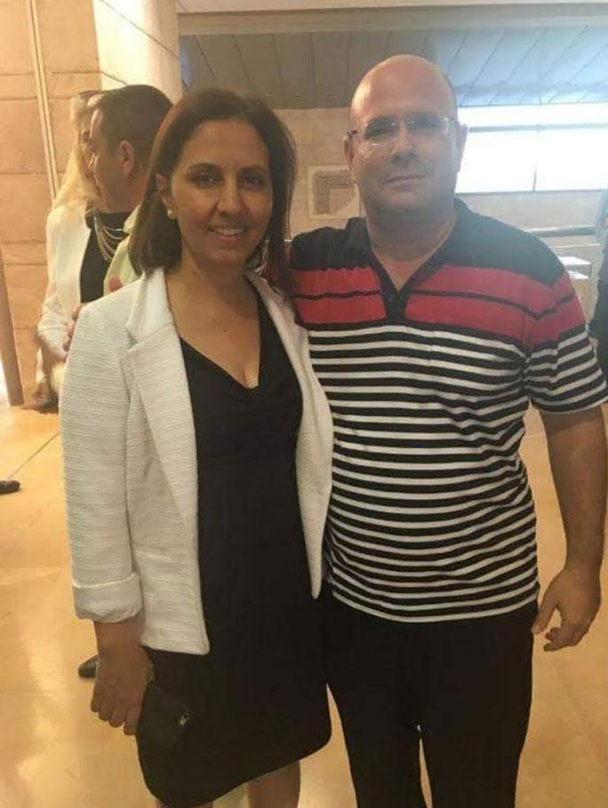 אמיר ימין וגילה גמליאל | מתוך בקשה שהוגשה לבית המשפט
