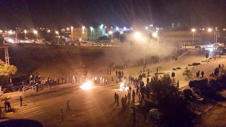 המהומות ברהט, 2015 שבת בערב
