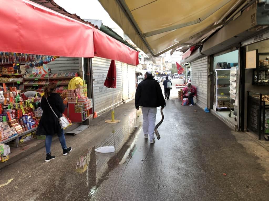 שוק הכרמל השבוע | צילום: אורי גבריאלי