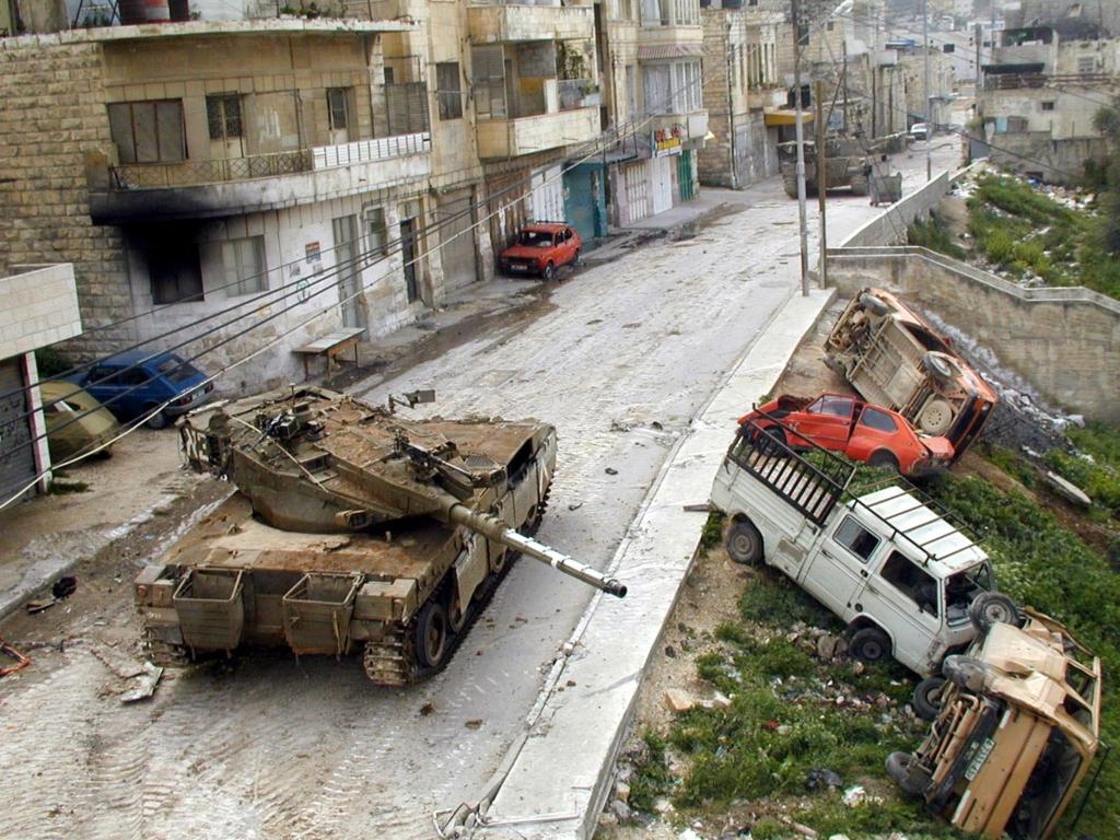 "טנק בג'נין | צילום: לע""מ"