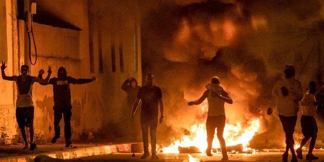 מהומות של ערבים ברמלה | צילום: יוסי אלוני, פלאש90